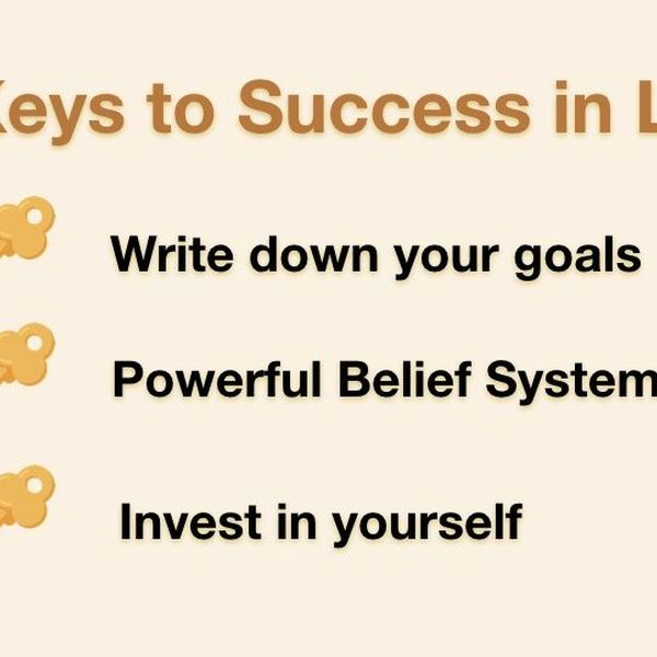 Key To Success In Life Essay Examples