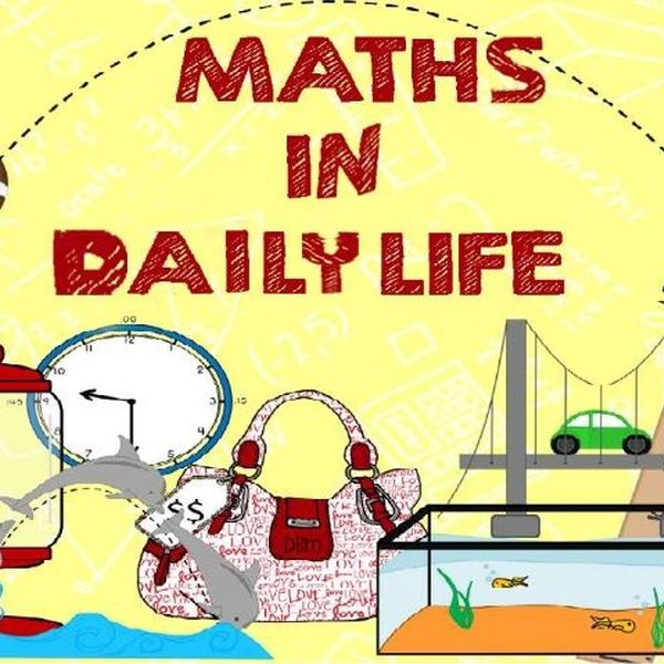 Maths In Daily Life Essay Examples