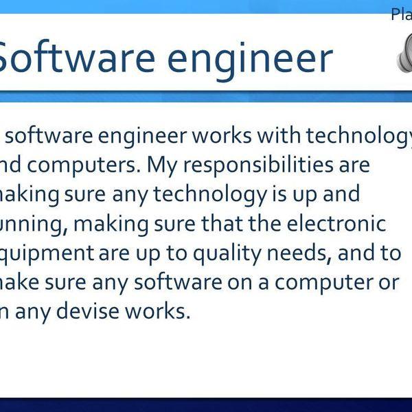 My Dream Career Engineer Essay Examples