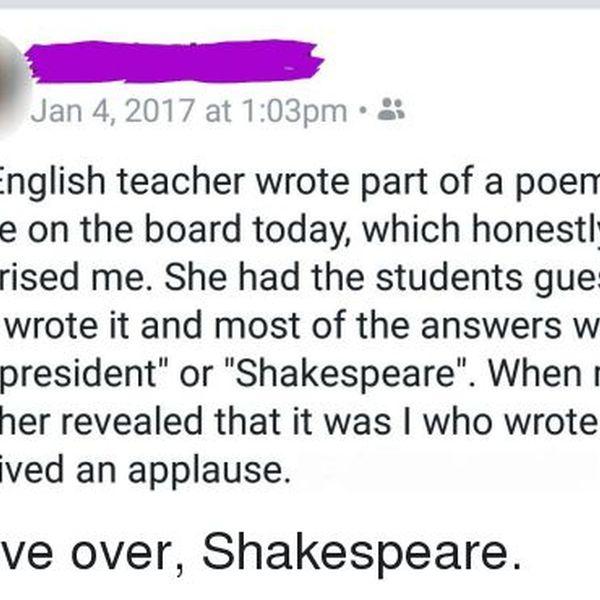 My English Teacher Essay Examples