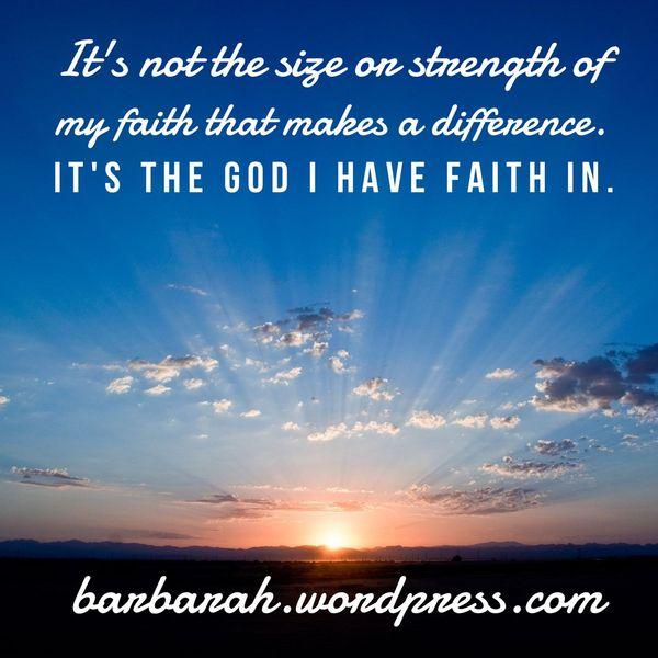 My Faith In God Essay Examples
