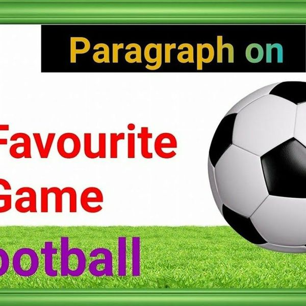My Favorite Game Football Essay Examples