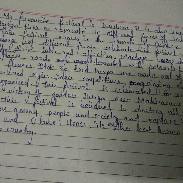 My Favourite Festival Durga Puja Essay Examples