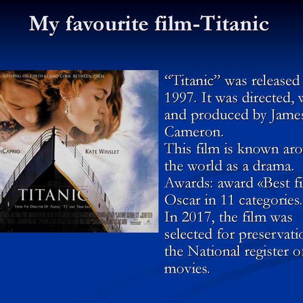 My Favourite Film Essay Examples