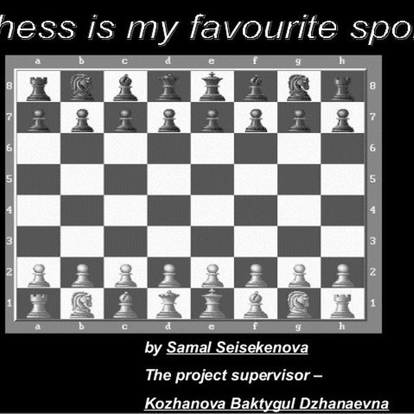 My Favourite Game Chess Essay Examples