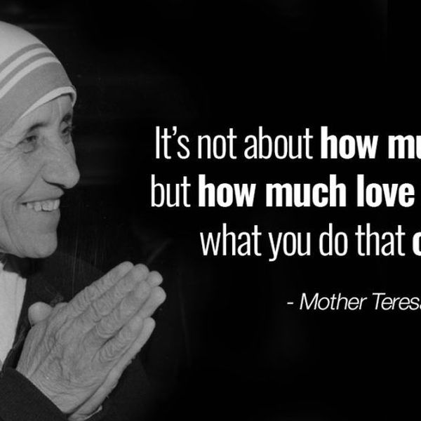 My Inspiration Mother Teresa Essay Examples