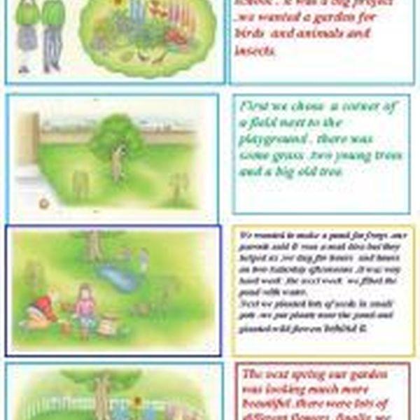 My School Garden Essay Examples