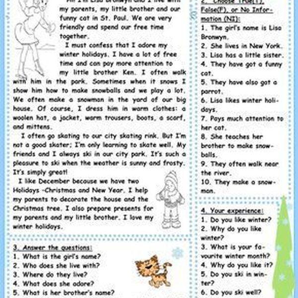 My Winter Holidays Essay Examples