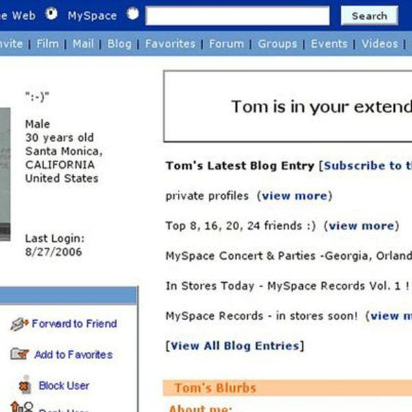 Myspace Essay Examples