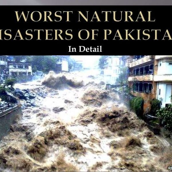 Natural Disaster In Pakistan Essay Examples