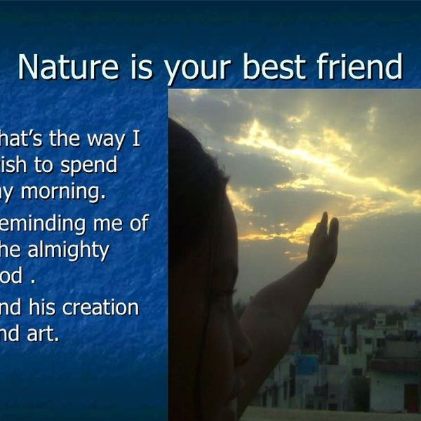 Nature Our Best Friend Essay Examples