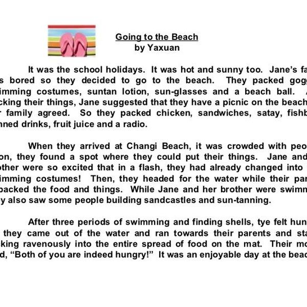 Our School Picnic Essay Examples
