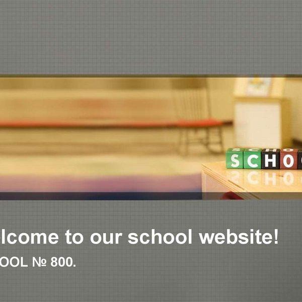 Our School Website Essay Examples