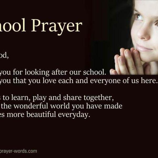 Prayer In School Essay Examples