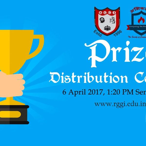 Prize Distribution Ceremony Essay Examples