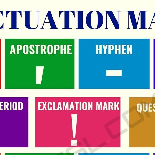 Punctuation Essay Examples