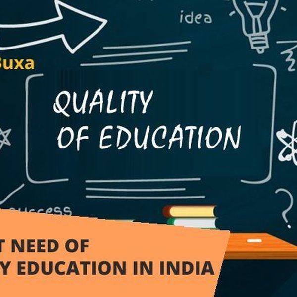 Quality Of Education In India Essay Examples