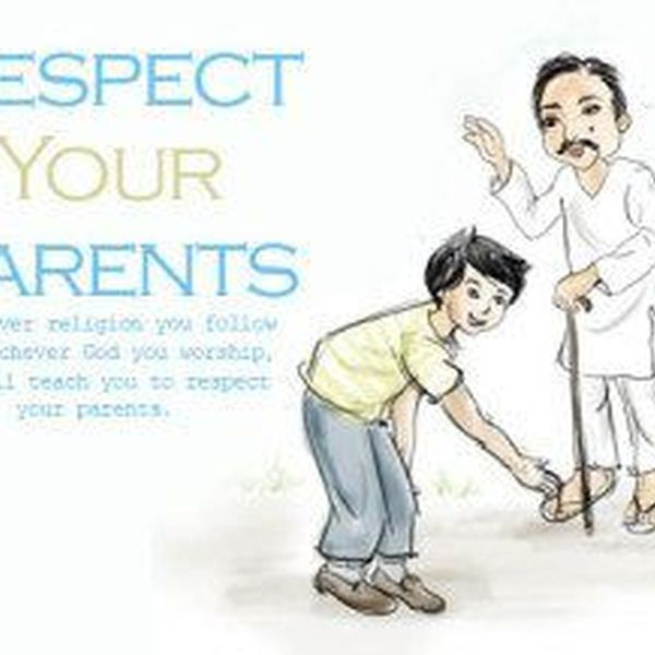 Respect Your Parents Essay Examples