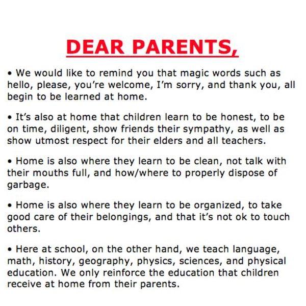 Responsibilities Of Parents Essay Examples