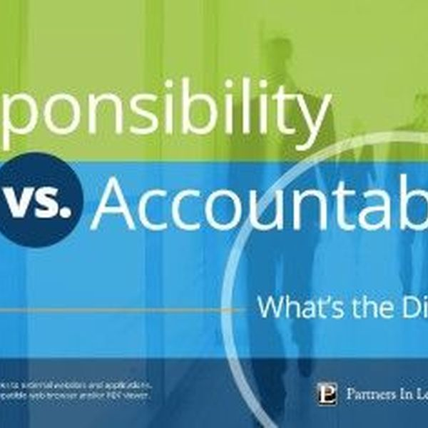 Responsibility And Accountability Essay Examples