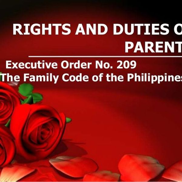 Rights And Duties Of Parents Essay Examples