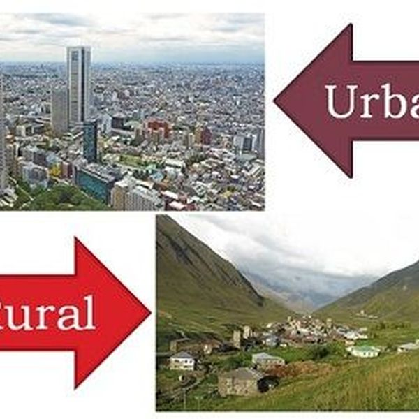 Rural And Urban Areas Essay Examples