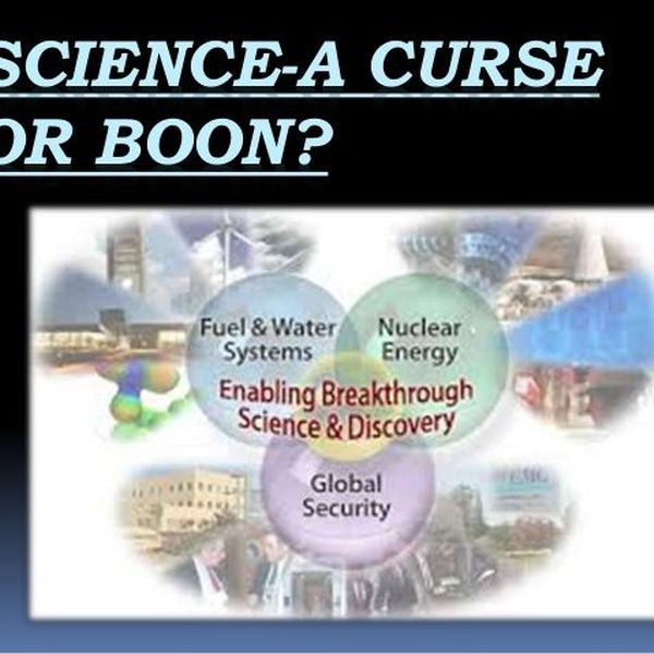 Science A Boon Or Bane Essay Examples