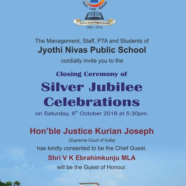 Silver Jubilee Celebration Of School Essay Examples