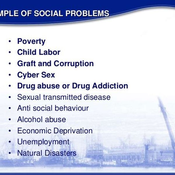 Social Problems In Society Today Essay Examples