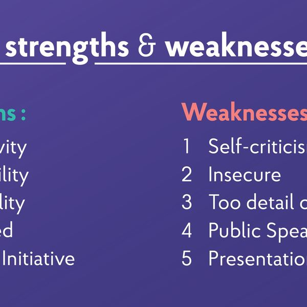 Strengths Essay Examples