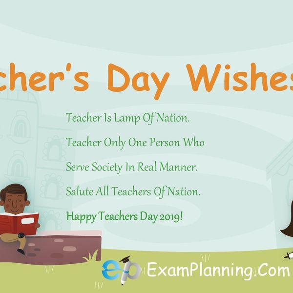Teacher Day Essay Examples