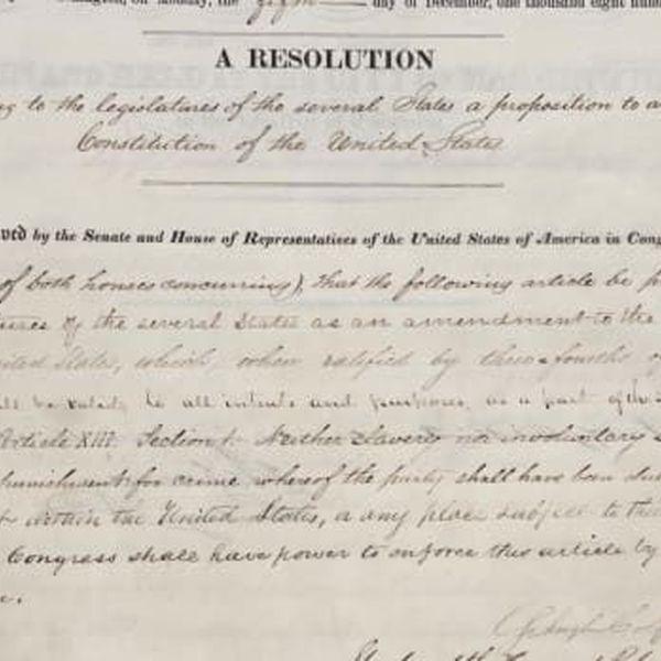 The 13th Amendment Essay Examples