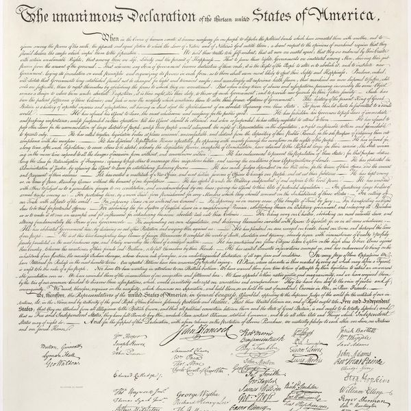 The Declaration Of Independence Essay Examples