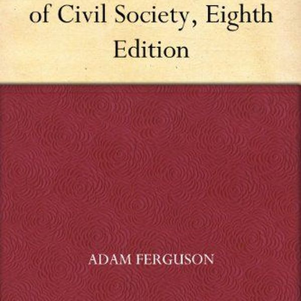 The History Of Civil Society Essay Examples