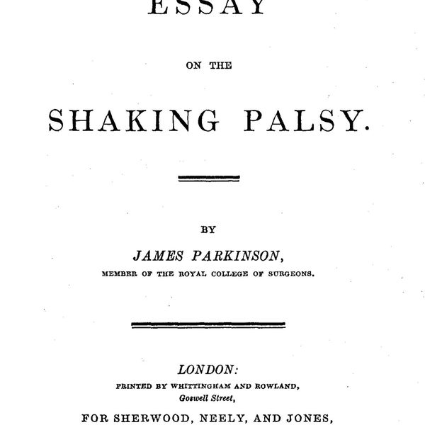 The Shaking Palsy Essay Examples