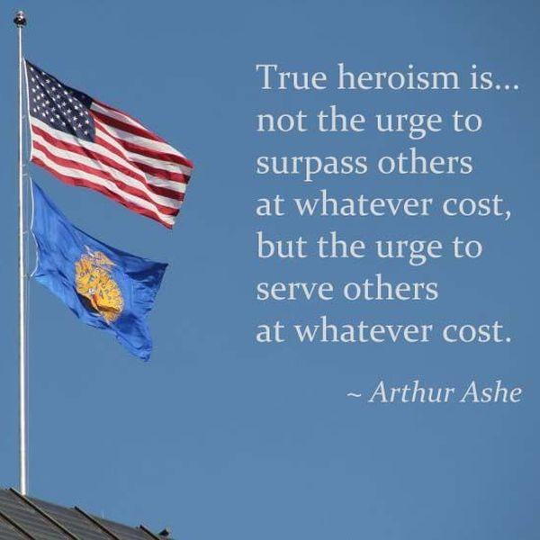 True Heroism Essay Examples