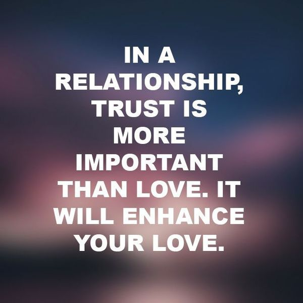 Trust In A Relationship Essay Examples