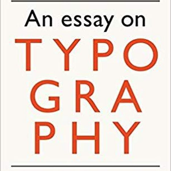 Typography Eric Gill Essay Examples