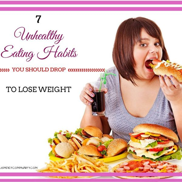 Unhealthy Eating Habits Essay Examples