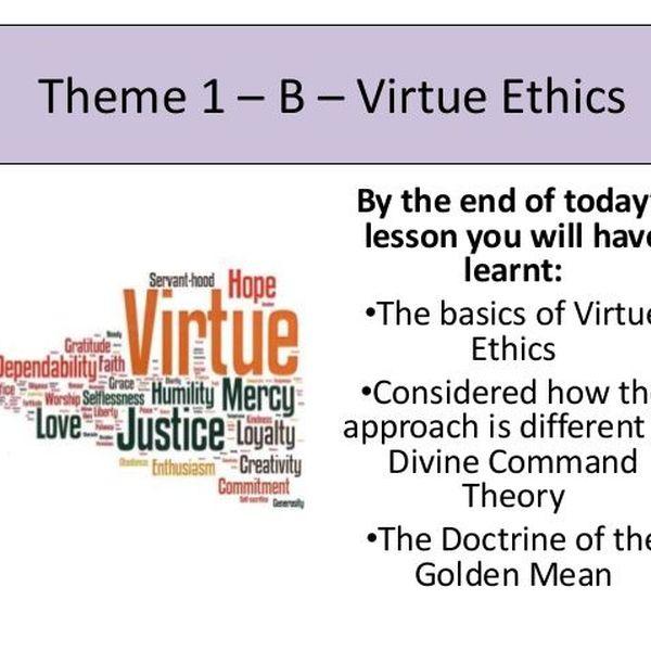 Virtue Ethics Essay Examples