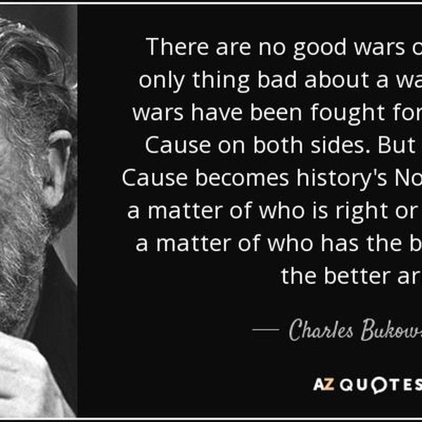 Wars Are Not Good Essay Examples