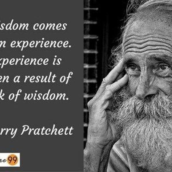 Wisdom Comes Through Experience Essay Examples