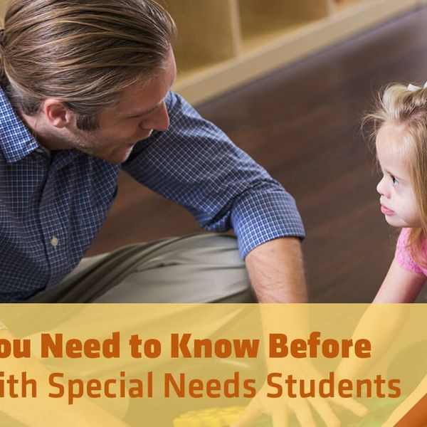 Working With Special Needs Essay Examples