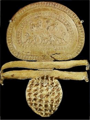 Fibula with Orientalizing Lions