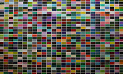 Gerhard Richter 1024 Colours, 1973 Oil on canvas 100 X 188 3/16 inches