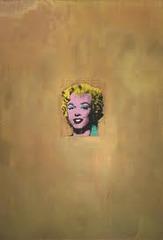 Gold Marilyn Monroe by Warhol