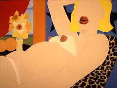 Great American Nude #57 by Wesselmann