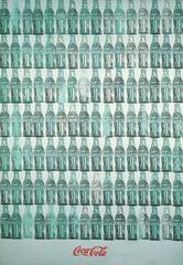Green Coca-Cola Bottles, 1962