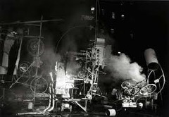 Homage to New York by Tinguely