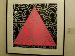 Keith Haring Silence = Death, 1989 Acrylic On Canvas 40 x 40 inches
